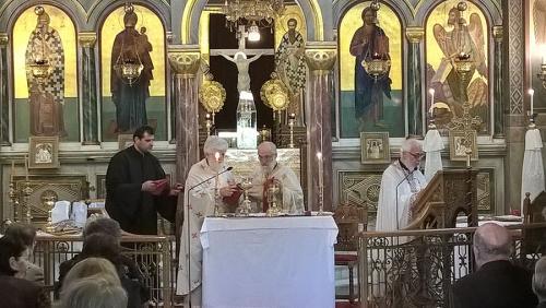 Από την λειτουργία του Αγίου Ιακώβου 21-10-2018